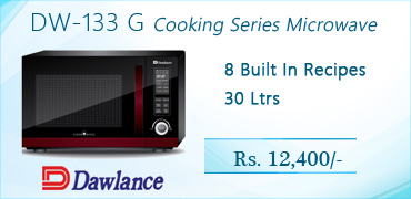 Dawlance DW-133 G Cooking Series Microwave Oven Price in Pakistan