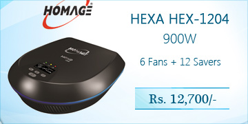 Homage Hexa HEX-1204 900W Home Inverter Price in Pakistan