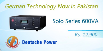 Deutsche Power Solo Series 600VA Home Inverter Price in Pakistan