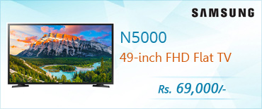 Samsung N5000 49 inch Full HD Flat TV (Series 5) Price in Pakistan